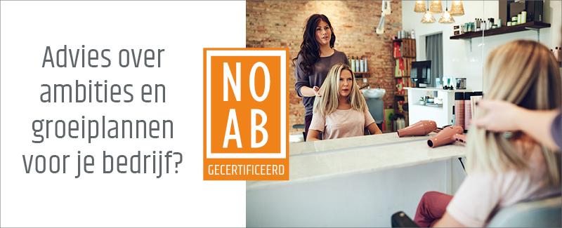 NOAB keurmerk advertentie kapperszaak