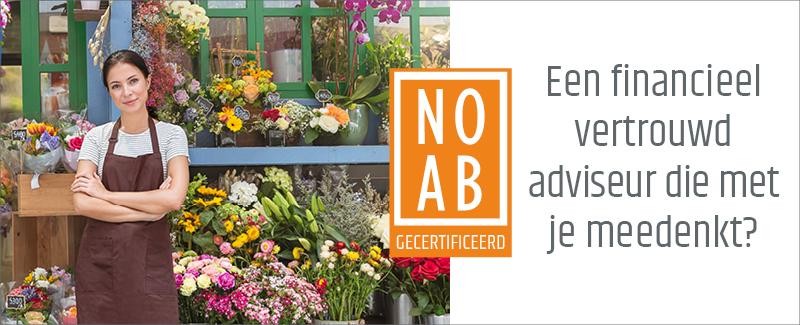 NOAB keurmerk advertentie bloemist